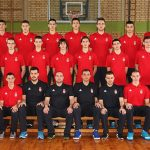 Kosarkasi Srbije U16.  Novi Becej, 24.01.2016.  foto: Marko Metlas / MN press